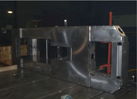 Optical bench welded