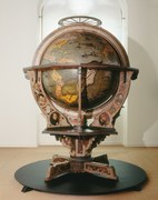 Ancient Manuscripts and Globe - Saint Gall and Zurich