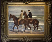 Deux cavaliers sur la plage – Héritiers Friedmann, Kunstmuseum de Berne, République fédérale d'Allemagne et Etat libre de Bavière