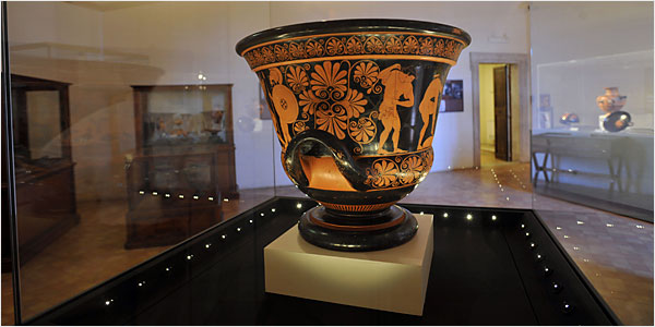 Euphronios Krater And Other Archaeological Objects Italy And
