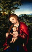 Madonna and Child in a Landscape – Philipp von Gomperz Heirs and North Carolina Museum of Art