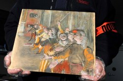 Stolen Degas Painting Is Found on Bus Near Paris