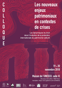 International Symposium: New Heritage Challenges in Crisis Contexts