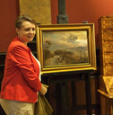 Restitution of Oswald Achenbach painting to the National Museum in Wroclaw
